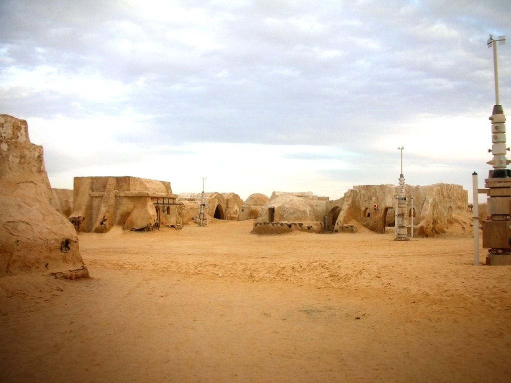 Tatooine se puede visitar en Túnez.
