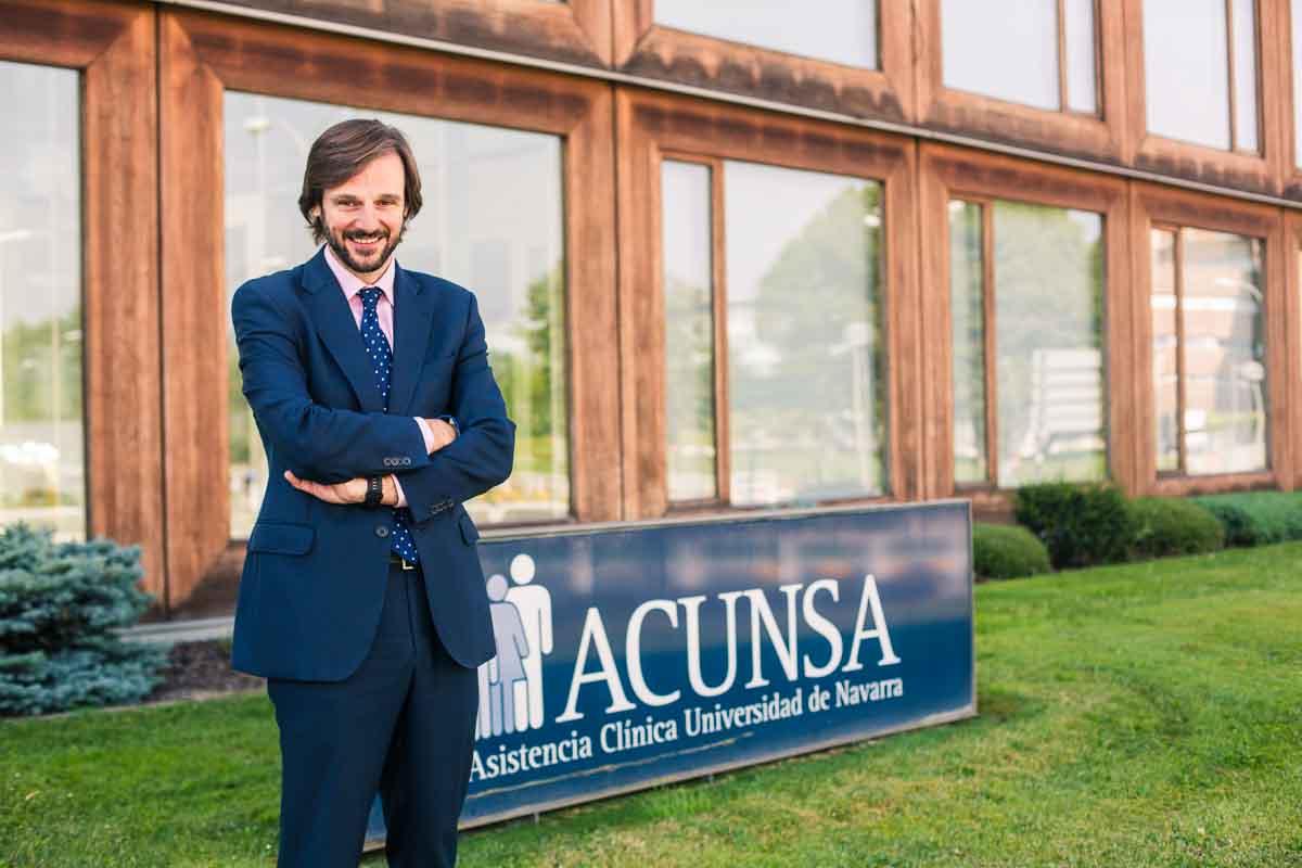 Guillermo Catalán, director comercial de ACUNSA.