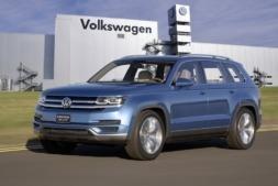 Imagen del nuevo SUV VW 2016 que producirá la factoría de Landaben.