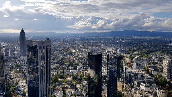Vistas desde la Main Tower de Fráncfort. (FOTOGRAFÍAS: KARINA ÁLVAREZ)