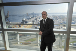 Asier Atutxa, presidente del Puerto de Bilbao.