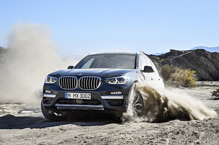 Imagen promocional del nuevo BMW X3.