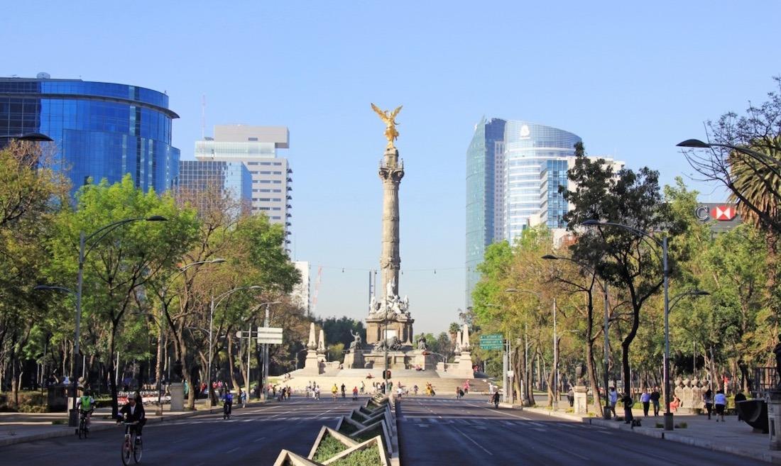 Imagen de Ciudad de México, lugar que van a visitar las entidades navarras, además de Puebla y Chihuahua.