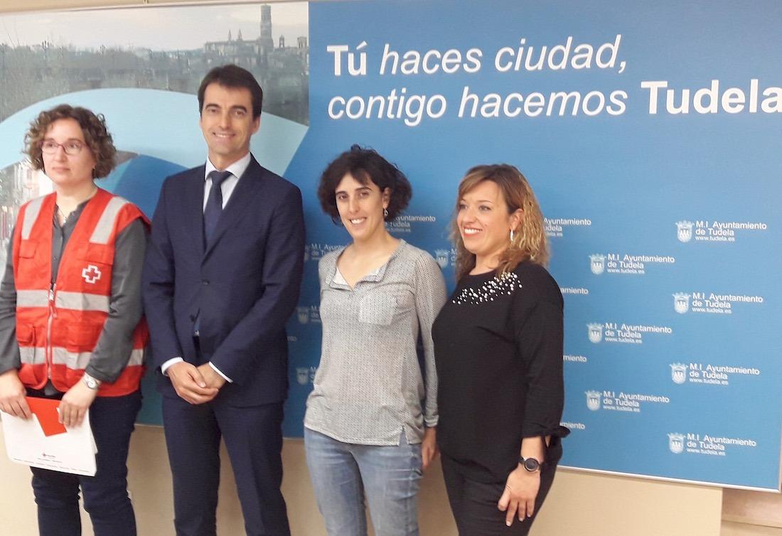Cristina Casado, José Antonio Lahoz, Marisa Marqués y Silvia Cepas.