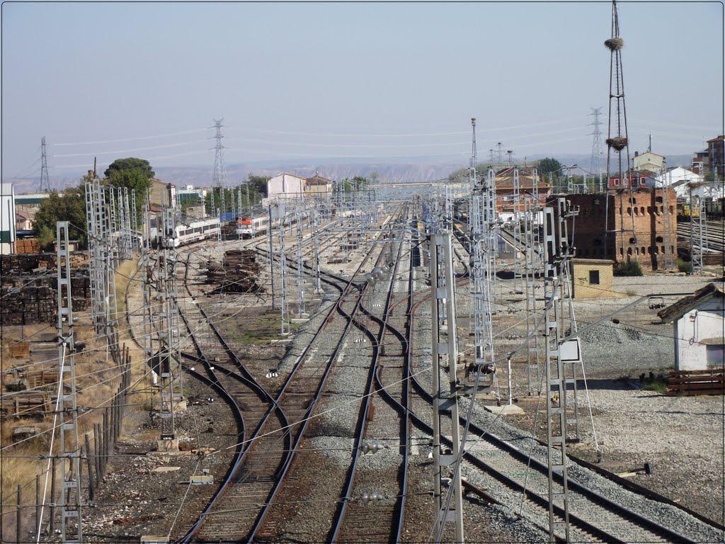 Estación de Castejón. Posible plataforma logística para mercancias