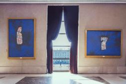 La exposición 'Estructuras Primarias' en el Teatro Real de Madrid, ya en Pamplona.