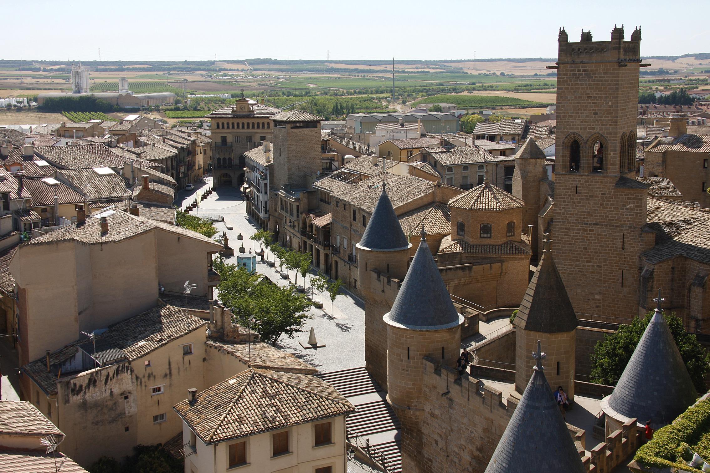 """El Palacio Real de Olite, el lugar más visitado por los turistas. (Fotografía cedida por el Archivo de Turismo """"Reyno de Navarra"""")"""