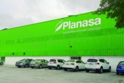 Imagen exterior de la sede de Planasa en Valtierra.