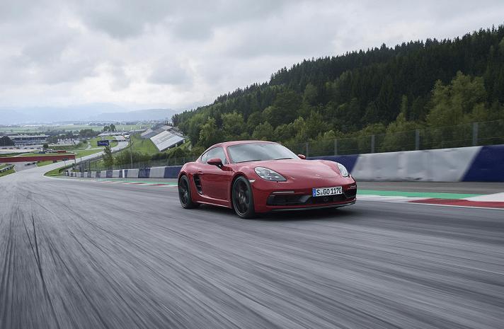Imagen promocional del nuevo Porsche 718.