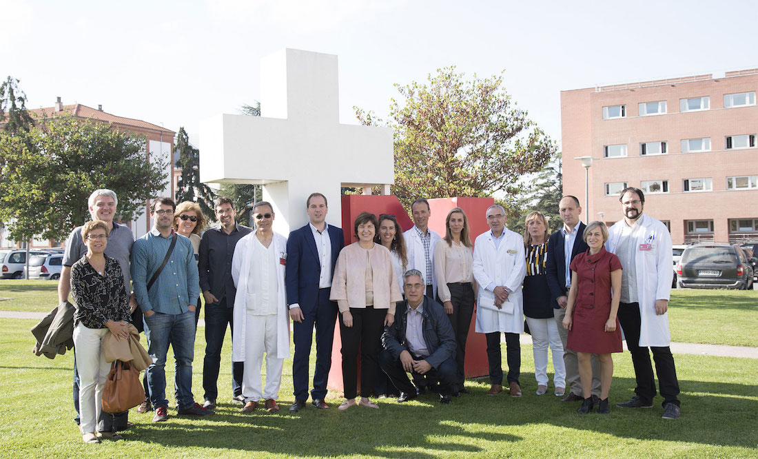 Representantes del Consorcio que integran el proyecto Nagen.