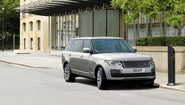 Imagen promocional del nuevo Range Rover SV.