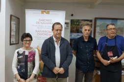 De I a D: Iciar Ortiz de Urbina, Mikel Arregi, Alberto Artieda y Jesús Orduna.