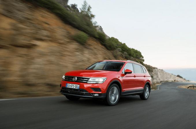 Imagen promocional del nuevo Volkswagen Tiguan.