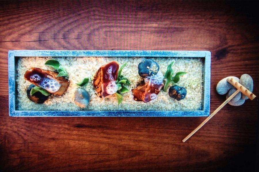 'Atún zen' fue la propuesta de Álvaro Melero para el concurso de gastronomía Atún Rojo Balfegó.
