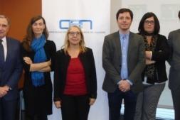 Foto de familia de los promotores y participantes del programa de Crecimiento Empresarial liderado por la CEN.