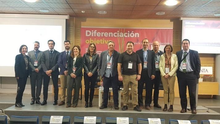 Foto de familia de los participantes y ponentes en la jornada sobre diferenciación promovida por CNTA.