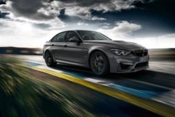 Imagen promocional del nuevo BMW M3 CS, disponible a partir de enero de 2018.