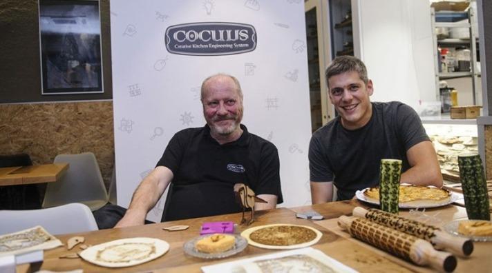 Imagen de Patxi Larumbe y Daniel Rico, promotores de 'Cocuus'.