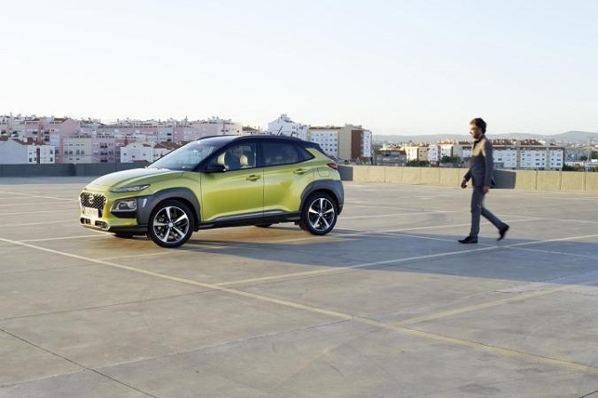 Imagen promocional del nuevo Hyundai Kona.