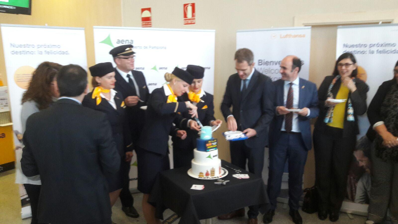 Vuelo inaugural Lufthansa