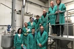 Foto de familia del equipo técnico de PENTABIOL, la pyme navarra que ha obtenido un préstamo participativo de 550.000€ de Sodena.