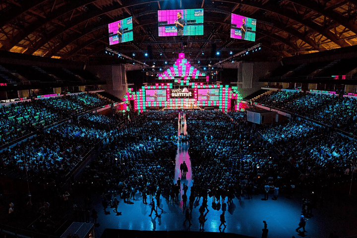 Web Summit se celebrará en Lisboa del 6 al 9 de noviembre.