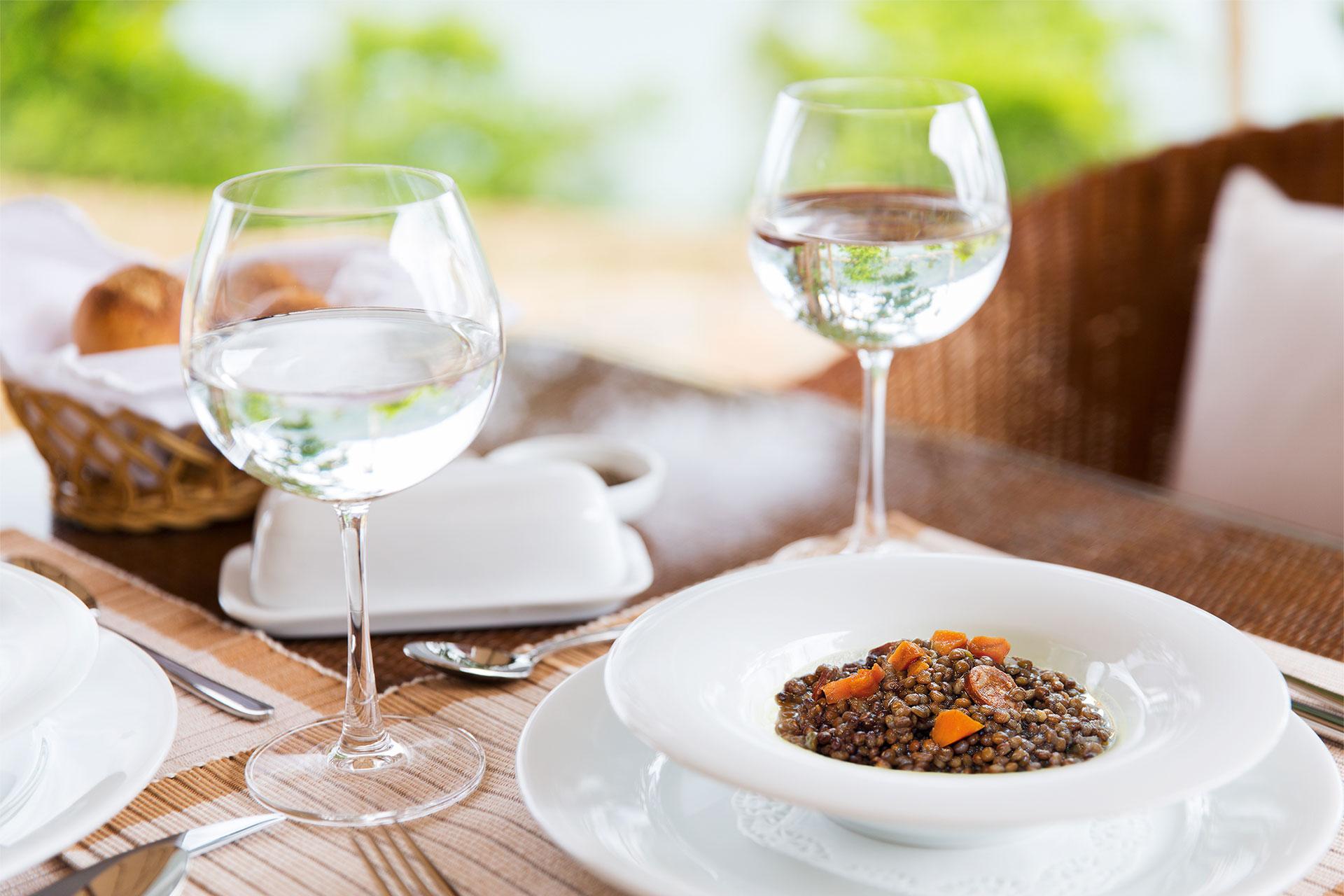 Imagen de uno de los platos preparados de forma natural por SANAE.