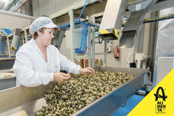 Línea de producción de caremelos El Caserío de Tafalla. Premio Alimenta Navarra 2017 a la Innovación.