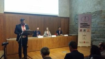 Ayerdi, Goñi y Lázcoz durante la presentación