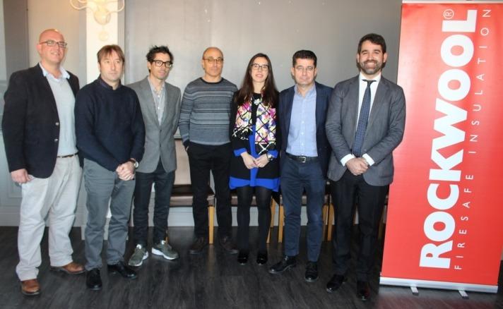 Los participantes en el debate organizado por Rockwool.