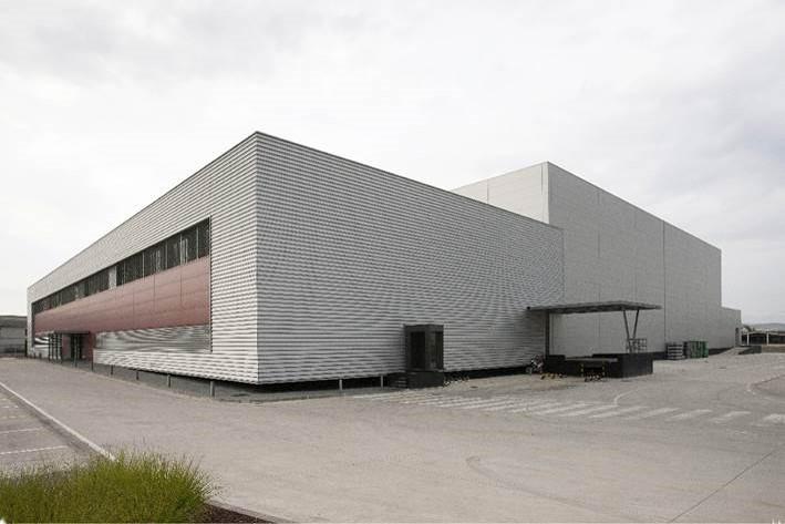 Centro de Producción de Elaborados Naturales en Lodosa.
