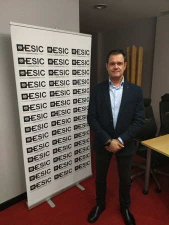 Alberto De Torres, CEO Nektiu y ponente en un encuentro celebrado recientemente en el Club de Marketing-ESIC Navarra