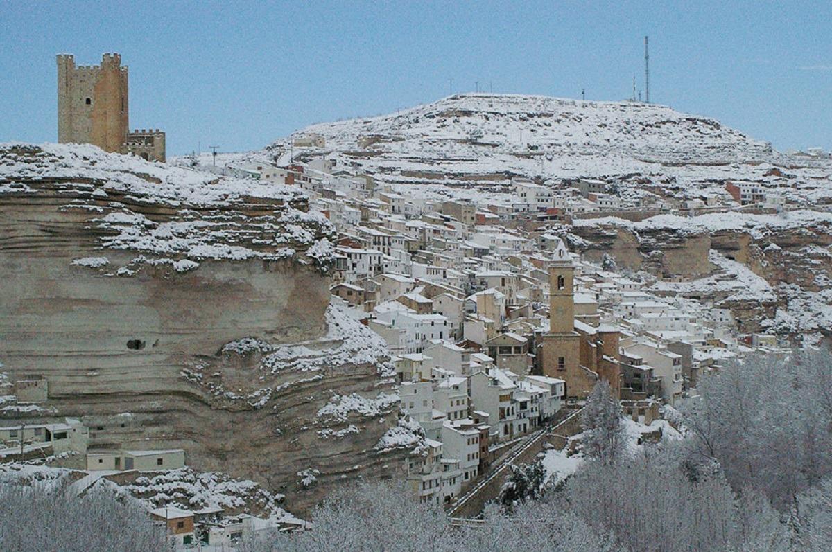 Alcala del Júcar (Albacete) en Navidad.