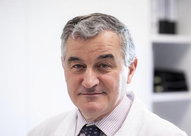 Primer plano de Dámaso Molero, director general de 3P Biopharmaceuticals (FOTO: Miguel Ciriza-archivo).