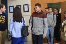 Alumnos de ESIC en Navarra.