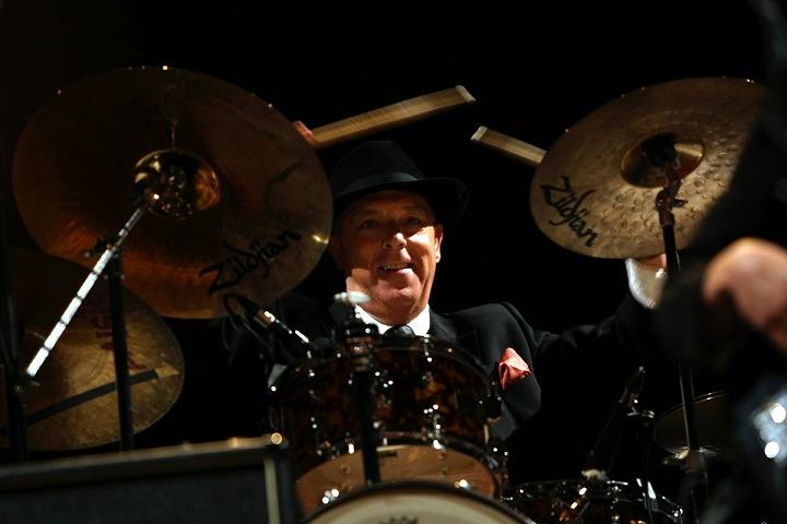 La gran afición de Javier Taberna es tocar la batería.