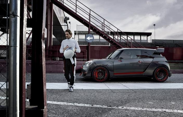 Imagen promocional del nuevo modelo MINI 'John Cooper Works GP Concept'.