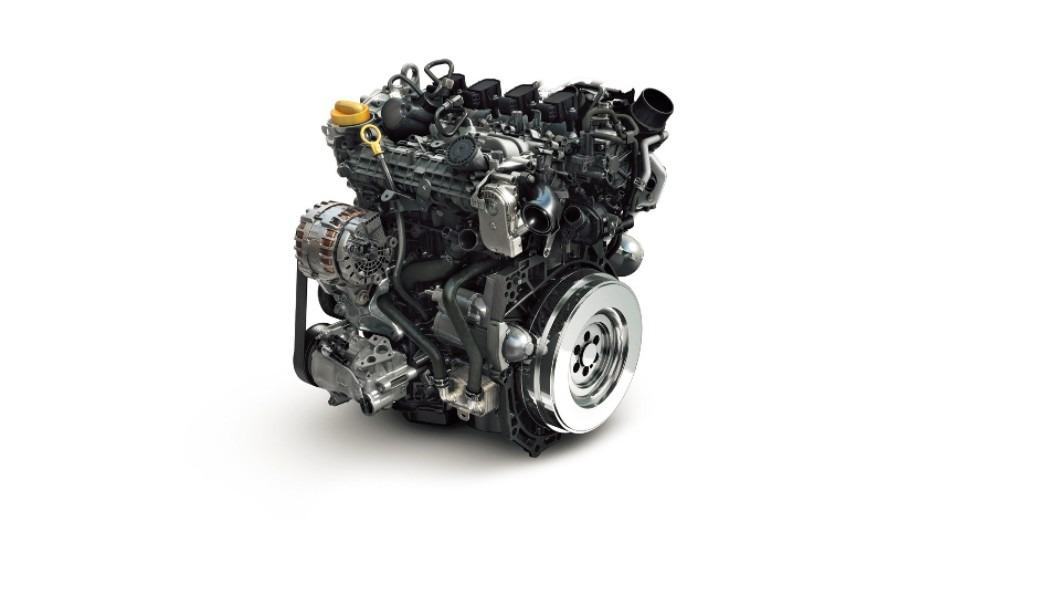Imagen del motor de gasolina de nueva generación que Renault y Daimler han diseñado por los Scénic y Grand Scénic.