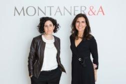 Imagen de Nora Reta y Genoveva Capdet, nuevas directoras de la oficina en Pamplona de Montaner & Asociados.