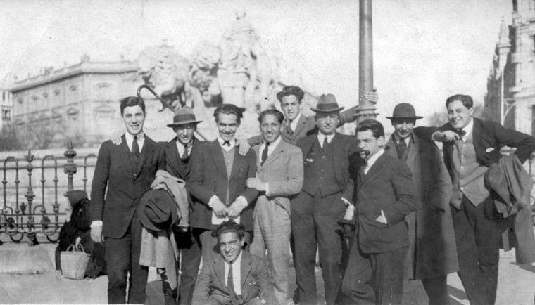 arniches-dominguez-garciaLorca-Buñuel