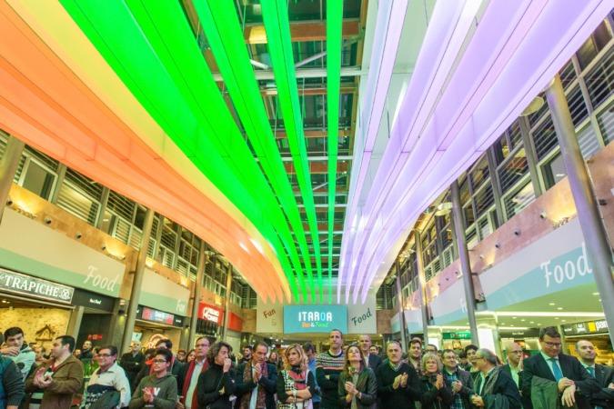"""Así luce el """"nuevo"""" Centro Comercial Itaroa (FOTOS: Victor Rodrígo)."""