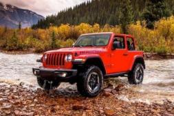 Imagen promocional del nuevo Jeep Wrangler 2018.