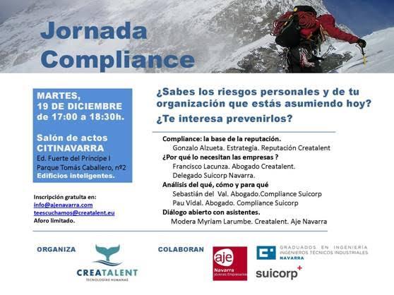 Jornada Compliance AJE Navarra