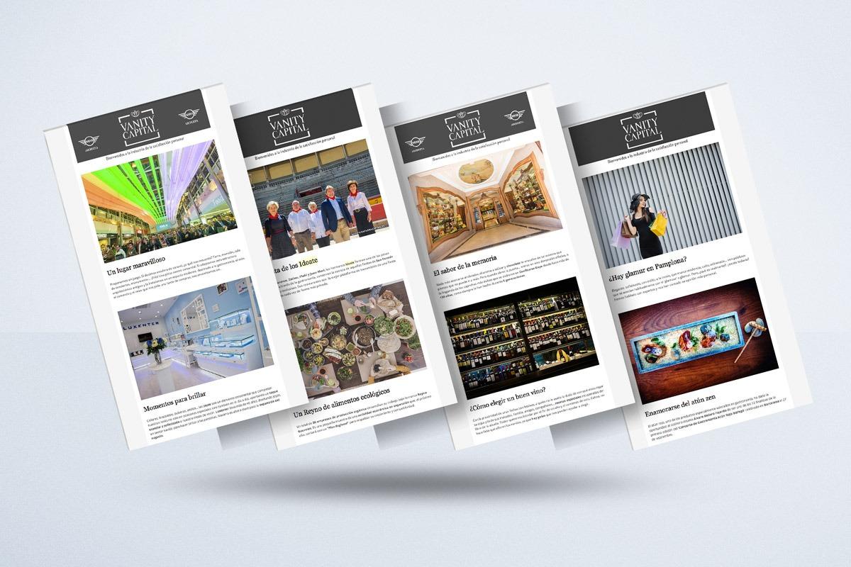 Algunas de las portadas más importantes de nuestro suplemento VanityCapital este año 2017