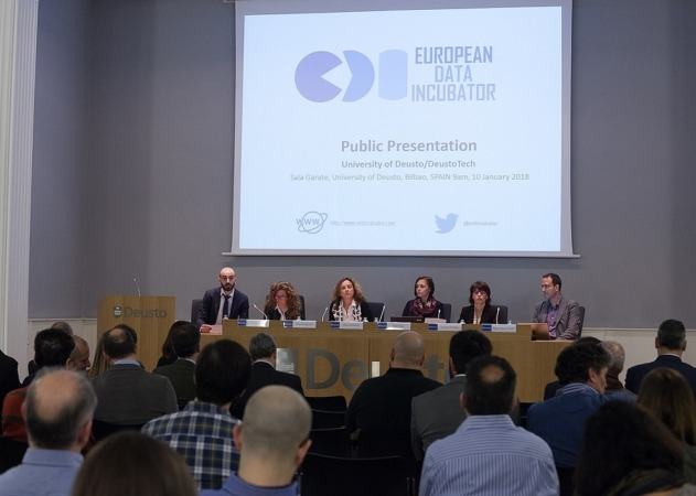 Imagen de uno de los encuentros de EDI, proyecto europeo en el que colabora Zabala Innovation Consulting.