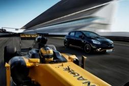 Imagen promocional del nuevo Renault Clio RS 2018