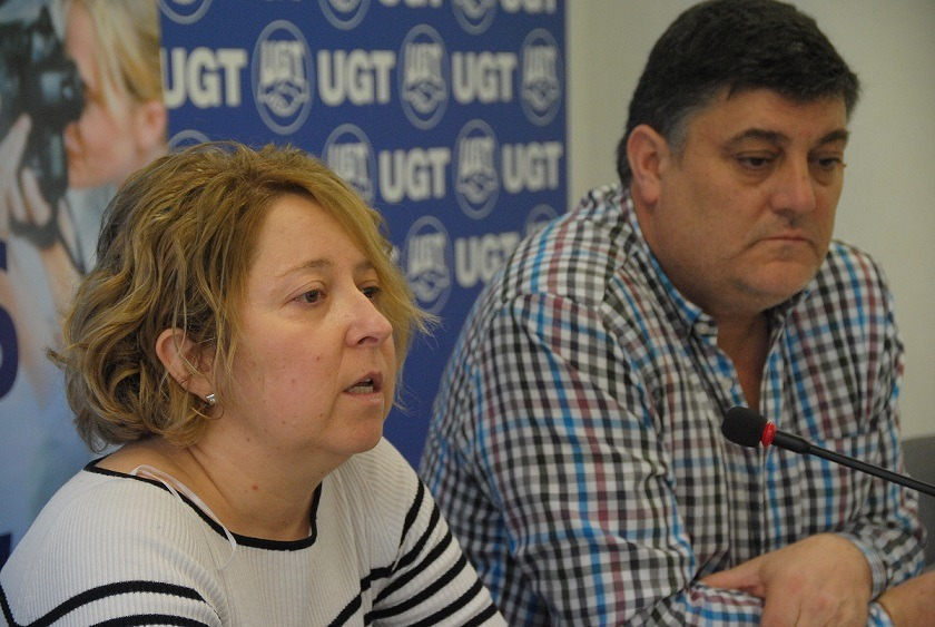 Natalia Moriones, Javier Marzo, UPTA,