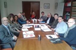 Foto de familia del Comité de Seguimiento del Plan Foral de Economía Social.