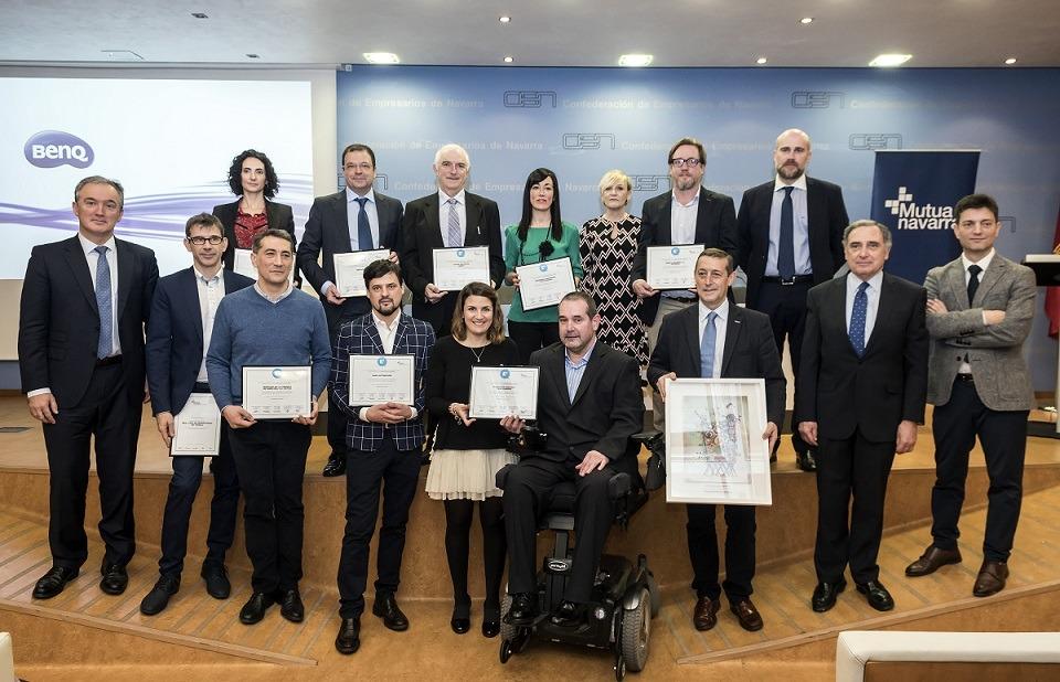 Mutua Navarra. Premio Azul 2018.