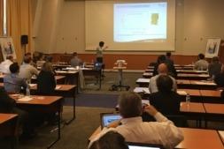 Imagen del encuentro celebrado en Sevilla y promovido por CNTA y el IFTPS norteamericano.